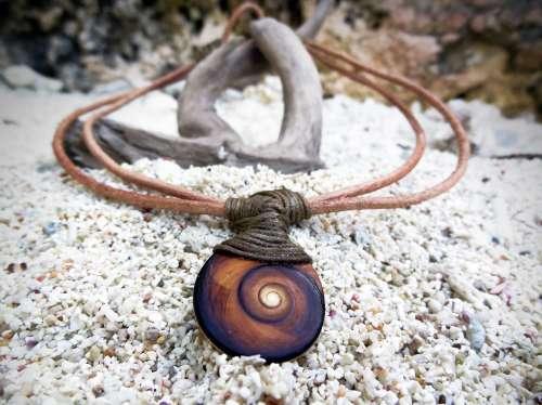 Collier Oeil de Shiva