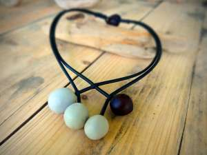 Collier Black & White