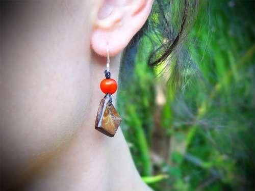 Boucles d'oreilles Coco