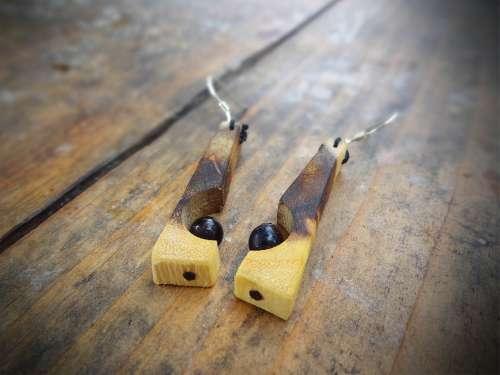Boucles d'oreilles Opus Incertum